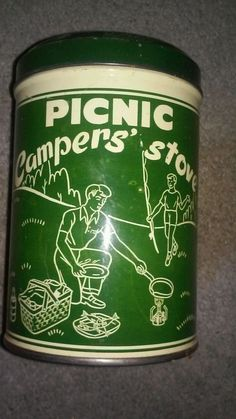 Handy Campers' Stove Picnic Gasoline Hiker Backpacker Adventure Cooking