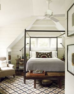 David Mitchells Patterns: Master Bedroom