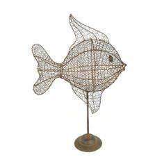 wire fish