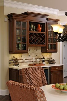 Every home loves to have a wine bar! Photographer ~ Bob Narod.