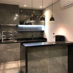 Half Walls, Wall Tiles, Decoration, Kitchen Design, Interior Design, Bar, Home, Zen Kitchen, Gourmet Cooking
