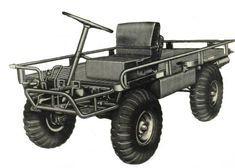 U.S. Military M274 Truck, Platform, Utility 1/2 Ton, 4X4 ...