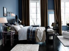 Amazing Home Design and Interior: White Bedroom Furniture Idea Ikea Bedroom Design, Bedroom Colors, Bedroom Furniture, Bedroom Decor, Cozy Bedroom, Bedroom Retreat, Bedroom Designs, Ikea Design, Ikea Furniture