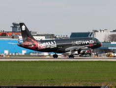 Etihad Airways Airbus A320 (A6-EIB) - Domodedovo, Moscow |DME|