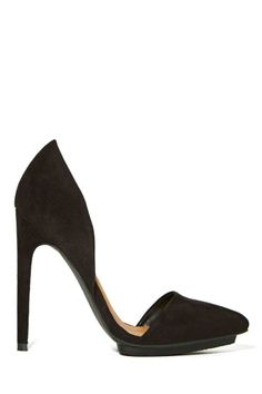 Shoe Cult Nicole Pump - Black