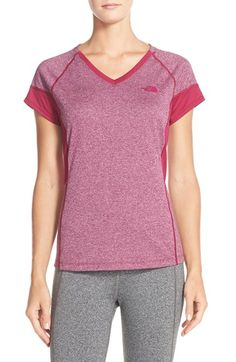 The North Face 'Reactor' V-Neck T-Shirt available at #Nordstrom