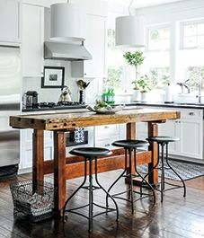 An eclectic design sensibility tempered by an outdoorsy palette shows that, as always, Mother Nature knows best.