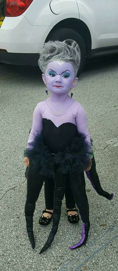 Homemade ursula costume all done in one night ursula homemade ursula solutioingenieria Image collections