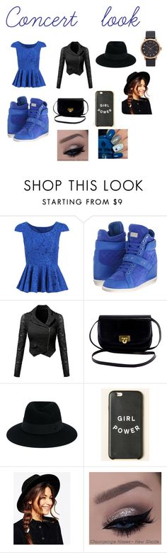 """""""Concert look"""" by minions4ever123 on Polyvore featuring Philipp Plein, Maison Michel, ASOS and Marc Jacobs"""