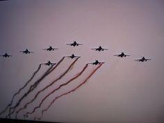 10 straaljagers.