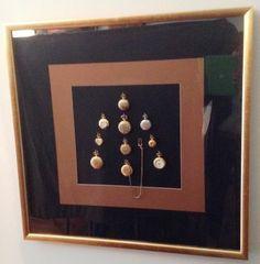 Colección de relojes enmarcados
