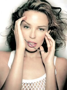 Kylie Minogue Fever Photoshoot 2001 Kylie Minogue Fever, Kylie Minogue Albums, Septum Ring, Chokers, Anniversary, Photoshoot, Female, Diamond, My Love