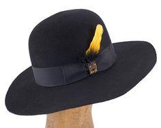 western weight beaver blend fur felt topper hat with by hatWRKS Felt 8088e0908561