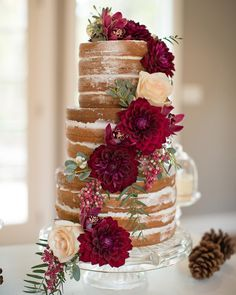 """727 Likes, 36 Comments - Aisle Perfect® Weddings (@aisleperfect) on Instagram: """"Trend talk for 2016: #NakedCakes aren't going anywhere!! Click the linked image in our bio to see…"""""""