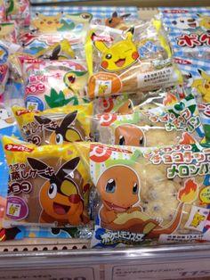 Pokemon Photos from Tokyo - Charmander Tepig Snivy Pikachu Pokemon Pan