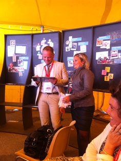 Atelier Usages de la tablette en pédagogie : ici Windows 8 avec R. Ley et J. Boréa