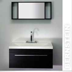 Wall Hung Wall Mounted Vanity Unit ,Mirror,White,Black, T900