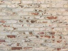 Brick Wall Fireplace Thin Veneers Prefect For White Washed Walls Fossil Clay