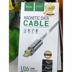 จัดส่งฟรี  Hoco U16 สายชาร์จแม่เหล็ก Micro USB Magnetic Data Cable (SILVER)  ราคาเพียง  297 บาท  เท่านั้น คุณสมบัติ มีดังนี้ ผลิตจากอลูมิเนียม สายเป็นแบบเชือกถักคุณภาพดี สายความยาวประมาณ 1.2 เมตร