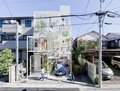Privacy is lacking in this Tokyo glass home - Shine from Yahoo! Canada
