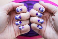 zic zac violet and purple