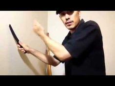 solo training 5 move basic knife drill - YouTube