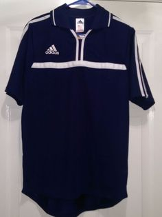 Adidas NWT Men''s ClimaLite Blue/White Paris Jersey Size S #adidas #Jerseys