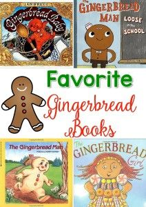 Our favorite Gingerbread books for interactive read aloud! These are perfect for comparing characters, too!