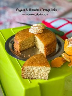 Yes this orange sponge cake is eggless, butterless and totally flawless. This recipe was posted. Eggless Recipes, Cooking Recipes, Orange Sponge Cake, Lemon Yogurt Cake, Sponge Cake Recipes, Amazing Cakes, Cravings, Baking, Custard Pudding
