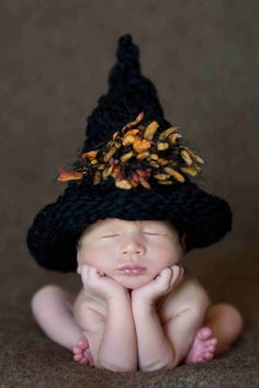 Baby Witch Hat!