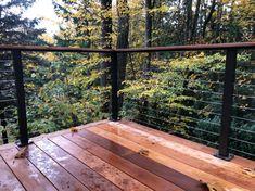 Railings | VIS Design Portland Garden, Railings, Deck, Outdoor Decor, Design, Home Decor, Decoration Home, Room Decor, Floating Stairs