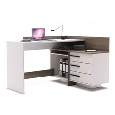 Γραφείο με συρταριέρα Tristan - Εργασίας - Γραφεία - ΓΡΑΦΕΙΟ