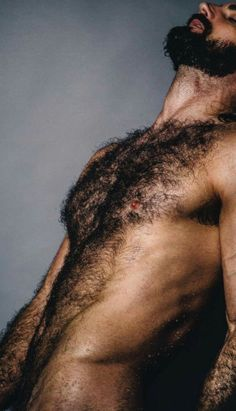 Men, Stop Shaving And Trimming Your Body Hair.