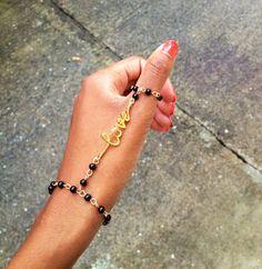 LOVE Thumb Slave Bracelet