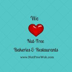 We  love Nut Free Bakeries
