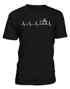 FUNNY #PHOTOGRAPHER #HEARTBEAT DESIGN Best #Photography #TShirt for you.... Grab yours one before ended.... #photography #phtography #tshirts #tshirtshop #tshirtformen #tshirtforwomen #photographytshirts #fashion #style #shopping #shoppingtime