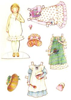 Holly Hobbie: Paper Dolls To Cut Out & Dress Up