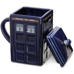 Tardis Mug with lid!