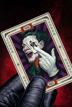The Joker's Calling Card.