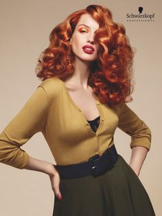 40s Retro Salon Largo. #EssentialLooks Fall Winter 2013 #apassionforhair-pin it from carden