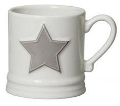 Bastion Collection Kaffeebecher mug small star weiß Stern grau in Niedersachsen - Hermannsburg | eBay Kleinanzeigen