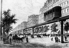 berlin 1880 | ... für eine elektrische Hochbahn in der Berliner Friedrichstraße, 1880