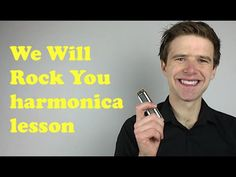 Queen 'We Will Rock You' harmonica lesson: How to play 'We Will Rock You' on D diatonic harmonica - YouTube