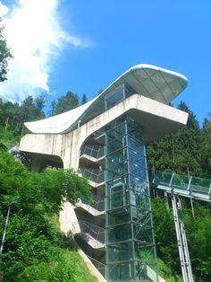 Hungerburgbahn in #Innsbruck designed by Stararchitect Zaha Hadid