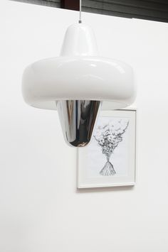 Swan pendant light by Guillaume Delvigne for La Chance - photo by Joséphine Aury - www.lachance.fr Pendant Lamp, Swan, Home, Swans, Swag Light, Hanging Pendants, Pendant Lamps, Pendant Lighting
