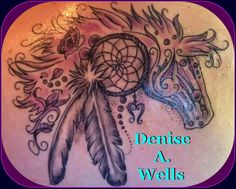 Horse Dream Tattoo design by Denise A. Wells   Flickr - Photo Sharing! @Baylie Carlson Wright