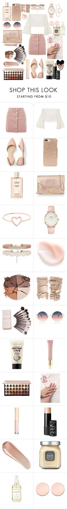 """Bronge"" by diathediamond ❤ liked on Polyvore featuring Topshop, Rosetta Getty, Kate Spade, Loeffler Randall, Love Is, CLUSE, lilah b., Fendi, Sephora Collection and AERIN"