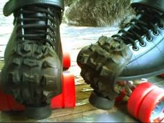 GREAT COVERS FOR THE SKATES!Handmade with rubber tires ;)