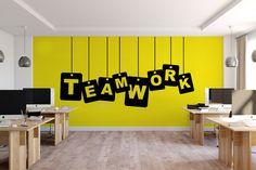 Large Citation automne Inspirational Gym Studio Mur Art Chambre À Coucher Autocollant Graphique