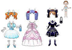 siapa pernah main kertas dress up doll? kenangan dulu-dulu hehehe.